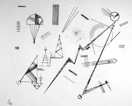 Lithograph Kandinsky - Kreis der Freunde des Bauhauses