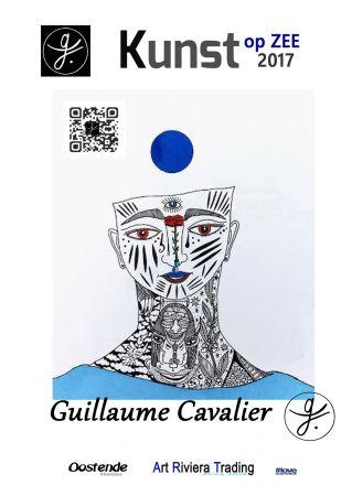 Poster Cavalier - '' Kunst Op Zee ''