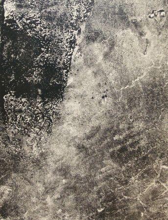Lithograph Dubuffet - Lèpre