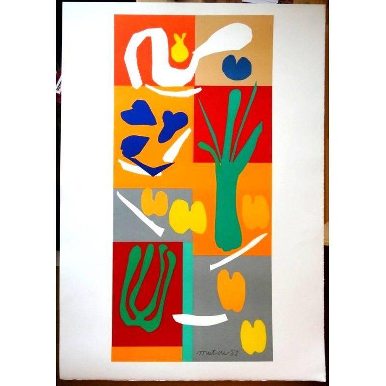 Lithograph Matisse - Légumes