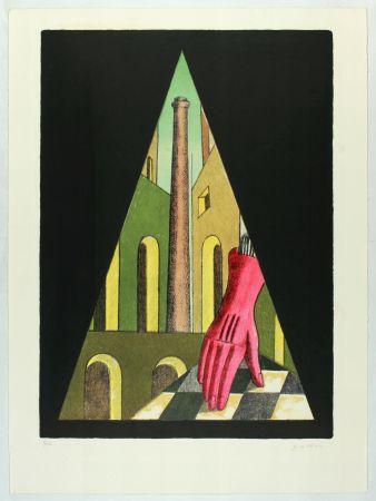 Lithograph Chirico (De) - L'Énigme De La Fatalité