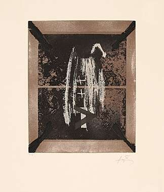 Etching Tàpies - Léntialle