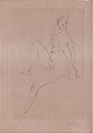 Illustrated Book Fini - L'épouse Infidèle.  Poemes.  Deux Eaux-Fortes Originales De Leonor Fini.