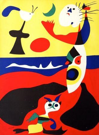 Lithograph Miró - L'été