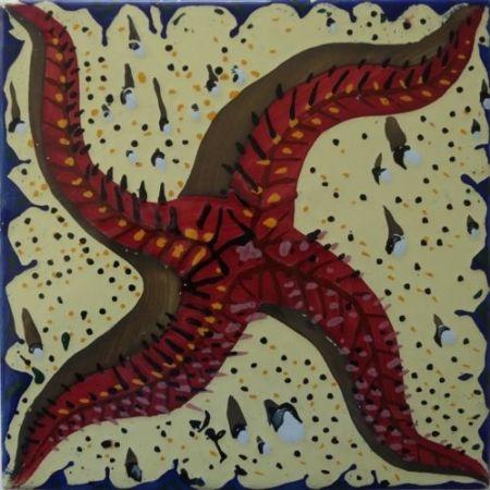 Ceramic Dali - L'étoile de mer