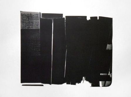 Lithograph Hartung - L-16