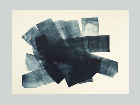 Lithograph Hartung - L-18-1973