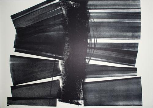 Lithograph Hartung - L-20-1974