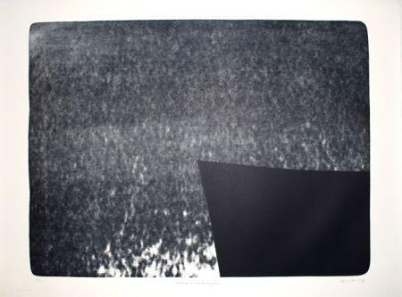 Linocut Hartung - L-25 - Hommage à Eva Bergman
