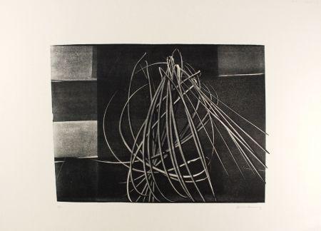 Lithograph Hartung - L-4-1976