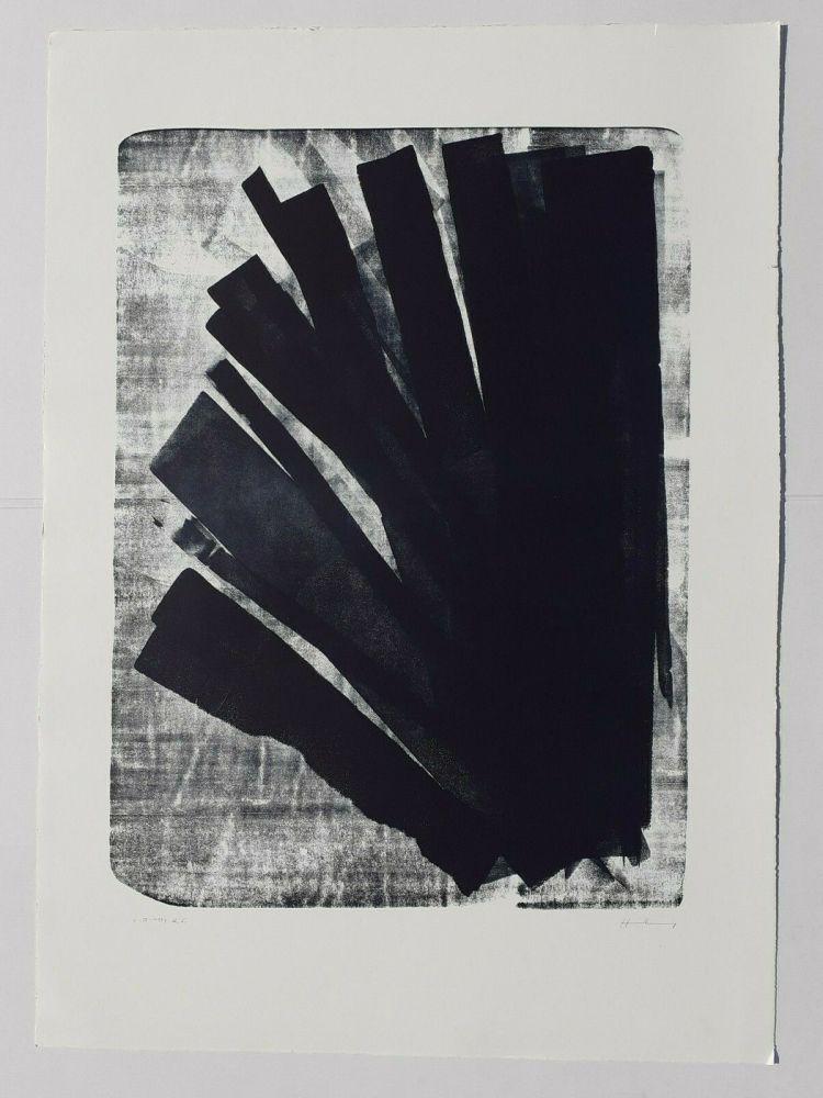 Lithograph Hartung - L-58-1973