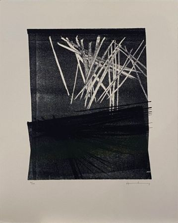 Lithograph Hartung - L1977-13