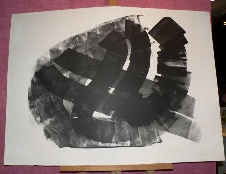 Lithograph Hartung - L43