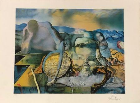 Lithograph Dali - L' énigme sans fin