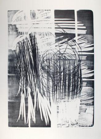 Lithograph Hartung - L - 16B - 1974
