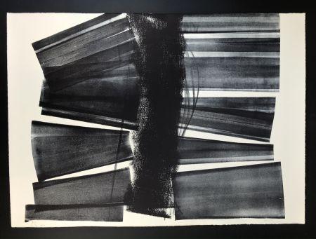 Lithograph Hartung - L - 1974 - 21