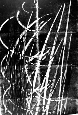 Lithograph Hartung - L - 60