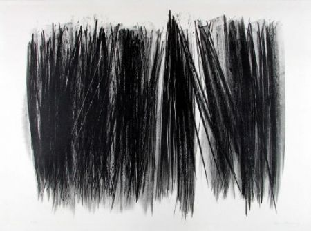Lithograph Hartung - L 105