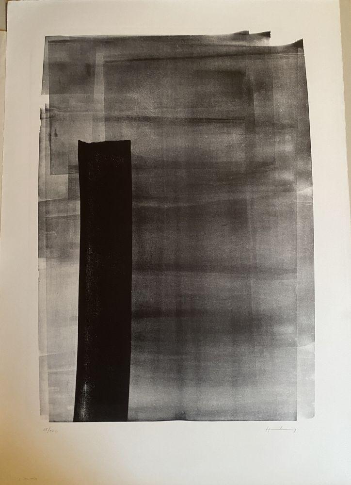 Lithograph Hartung - L 11