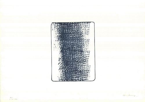 Lithograph Hartung - L 1973-24