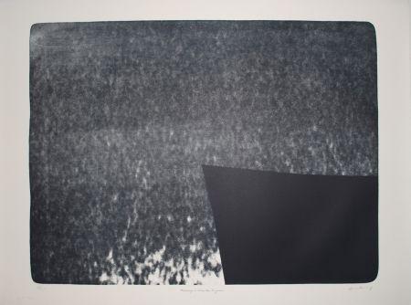 Lithograph Hartung - L 1976-25:  Hommage à Eva Bergman