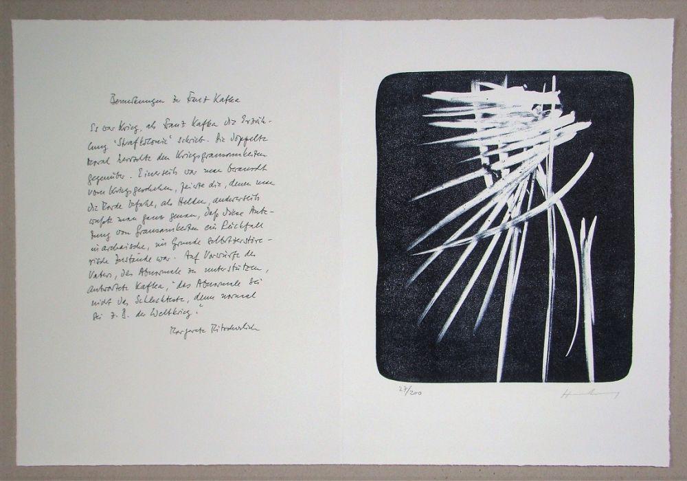 Lithograph Hartung - L 1976-27