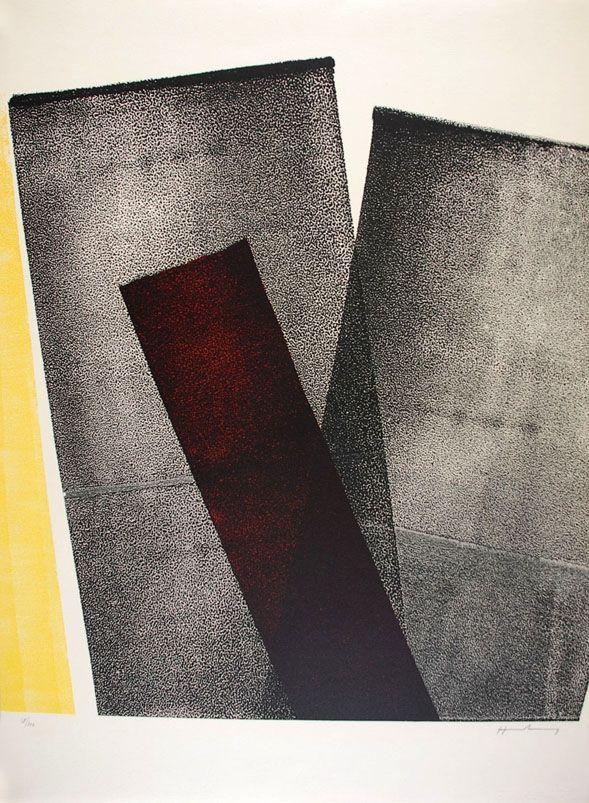Lithograph Hartung - L 1977-10