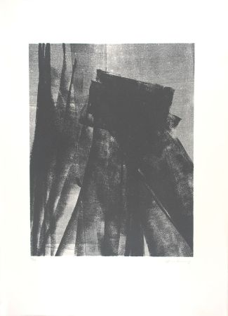 Lithograph Hartung - L 1977-4