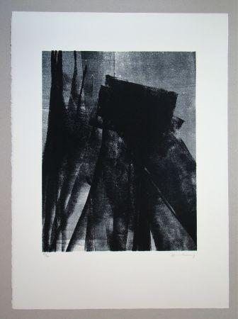 Lithograph Hartung - L 1977 - 4