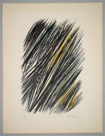 Lithograph Hartung - L 19 - 1957