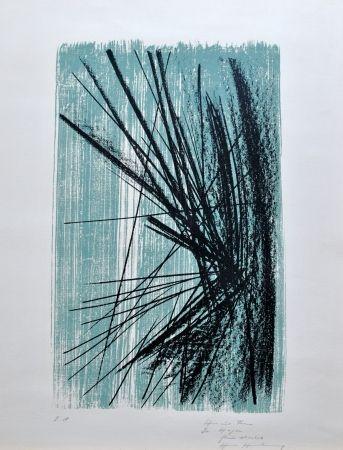 Lithograph Hartung -