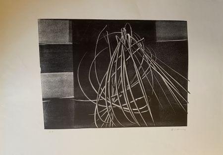 Lithograph Hartung - L 4