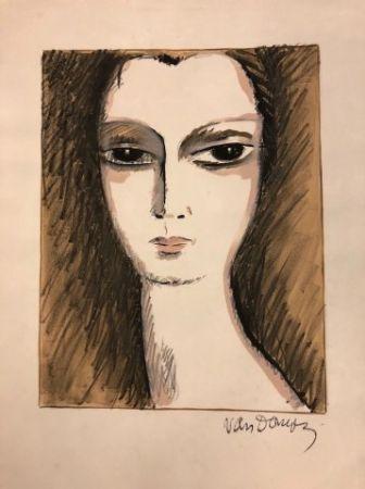 Lithograph Van Dongen - L' Anglaise