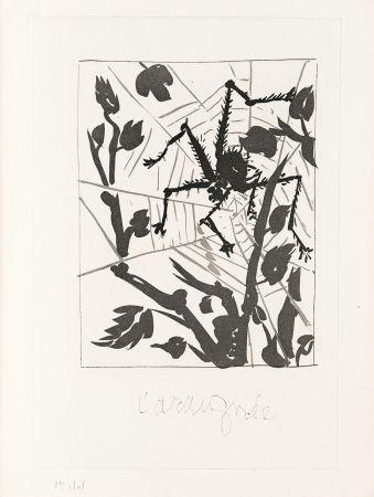 Etching Picasso - L' Araignée