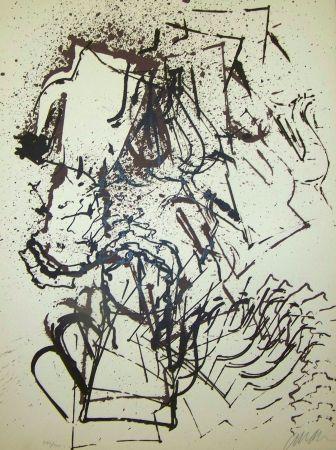 Lithograph Arman - L interieur des choses III la cafetière