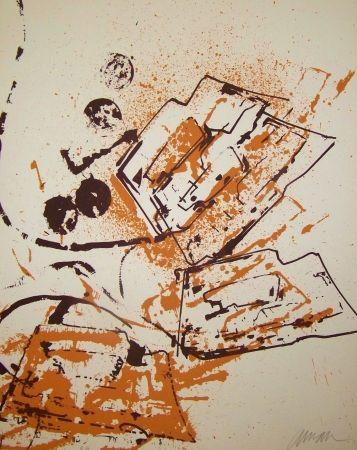 Lithograph Arman - L interieur des choses IV le fer a repasser
