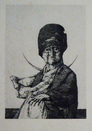 Etching And Aquatint Hernandez - La anunciada