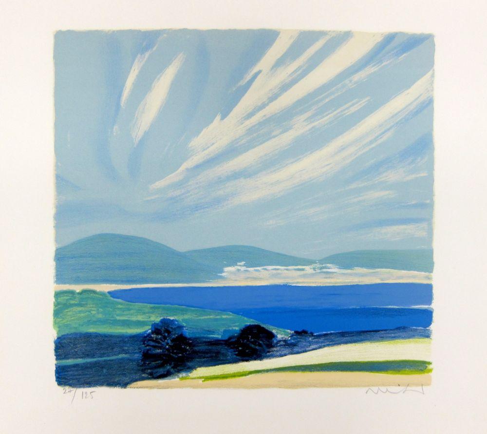Lithograph Muhl - La Baie de Cannes