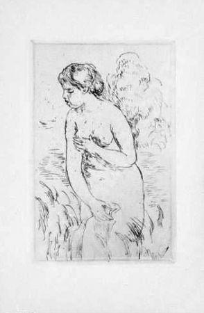 Aquatint Renoir - La Baigneuse, 1910