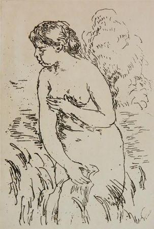 Etching Renoir - La Baigneuse Debouta Mi-Jambes