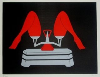 Lithograph Marien - La balance
