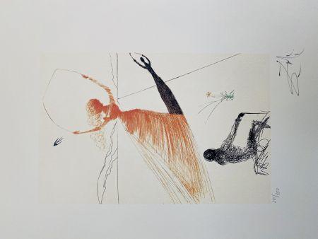 Lithograph Dali - La Ballerina