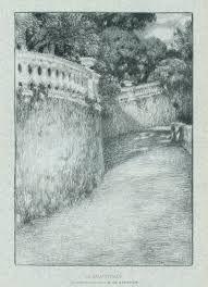 Lithograph Le Sidaner - La balustrade