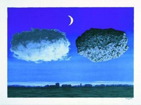 Lithograph Magritte - La Bataille de l'Argonne, 1964