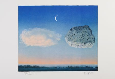 Lithograph Magritte - La Bataille de l'Argonne (The Battle of the Argonne)