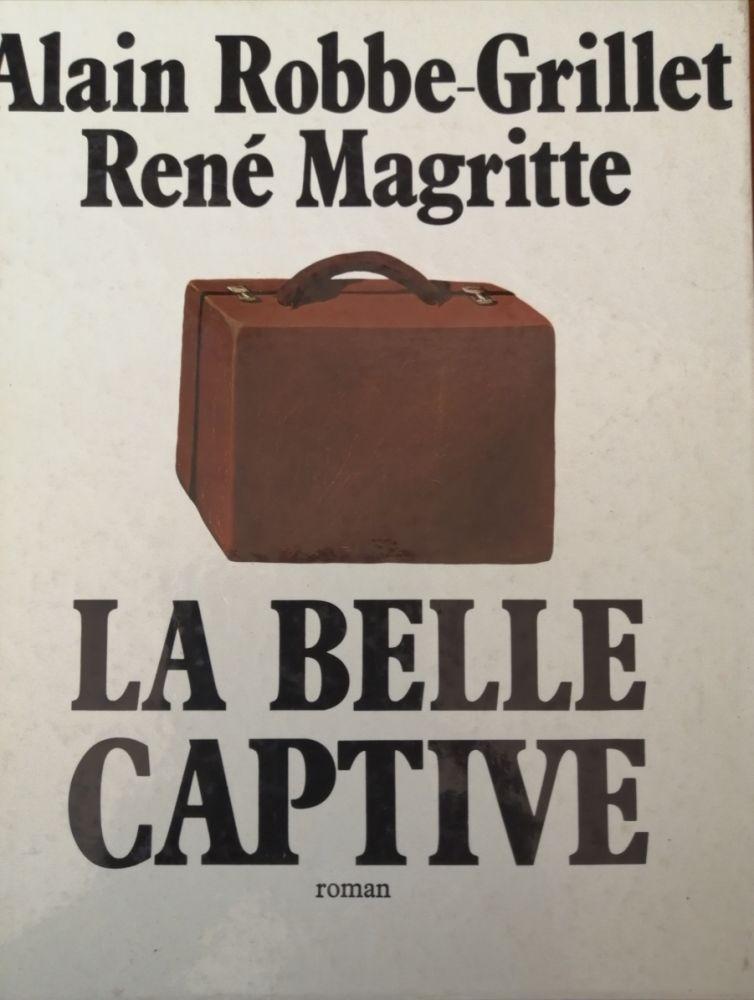 Illustrated Book Magritte - La Belle Captive - Roman