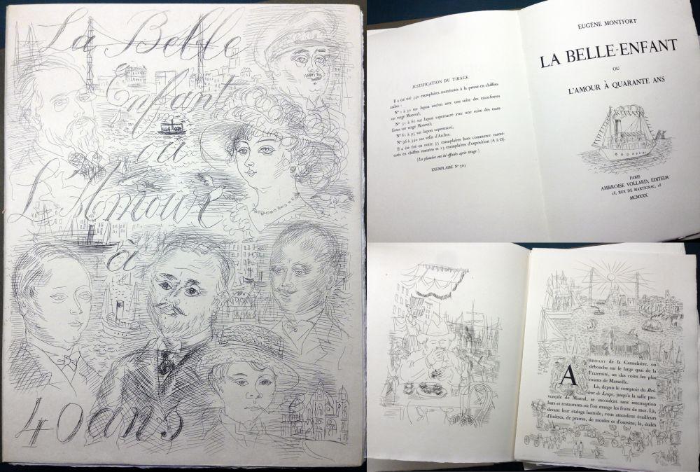 Illustrated Book Dufy - LA BELLE ENFANT OU L'AMOUR À QUARANTE ANS