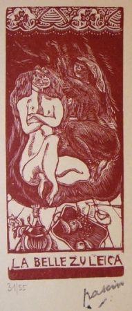 Lithograph Pascin - La belle Zuleica