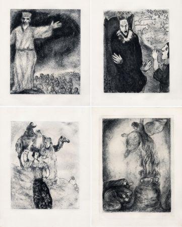 Engraving Chagall - LA BIBLE. (Suite des eaux-fortes gravées de 1931 à 1939 - Tériade 1956).