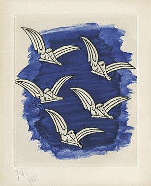 Etching And Aquatint Braque -